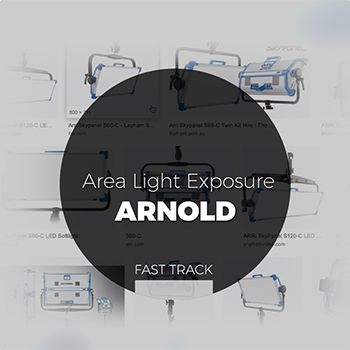 Arnold - Area Light Exposure