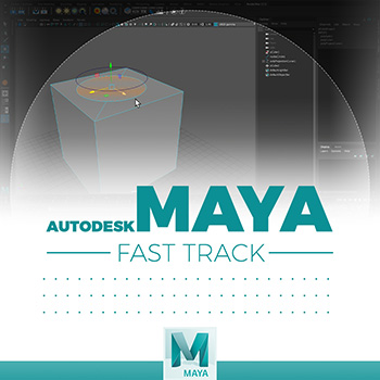 Maya - Project Curve on Mesh
