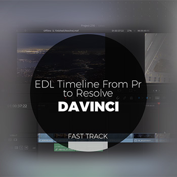 Davinci - EDL Timeline From Pr to Resolve