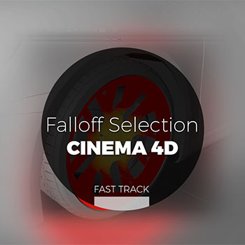 Cinema 4D - Falloff Selection