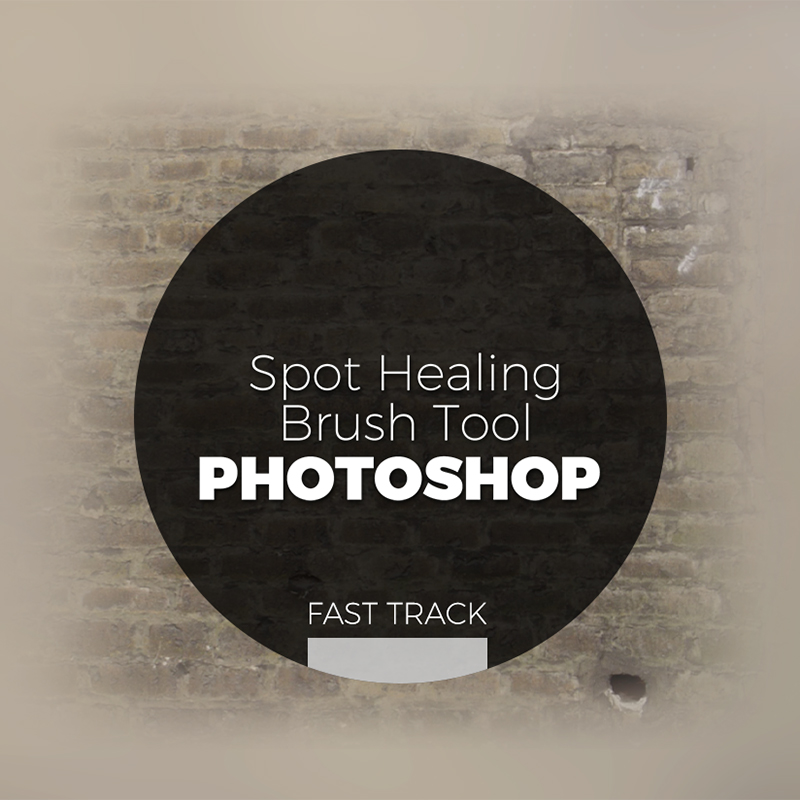 Photoshop - Spot Healing brush Tool