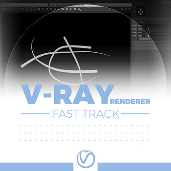 Vray - Renderable Curve Node