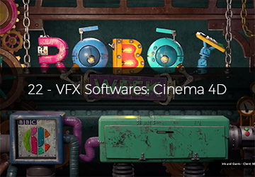 22 - VFX Softwares: Cinema 4D