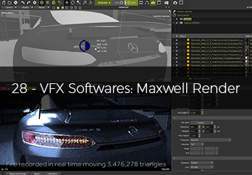 28 - VFX Softwares: Maxwell Render