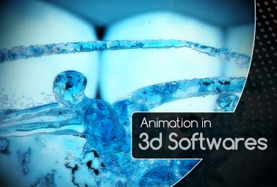 Animation in 3d Softwares